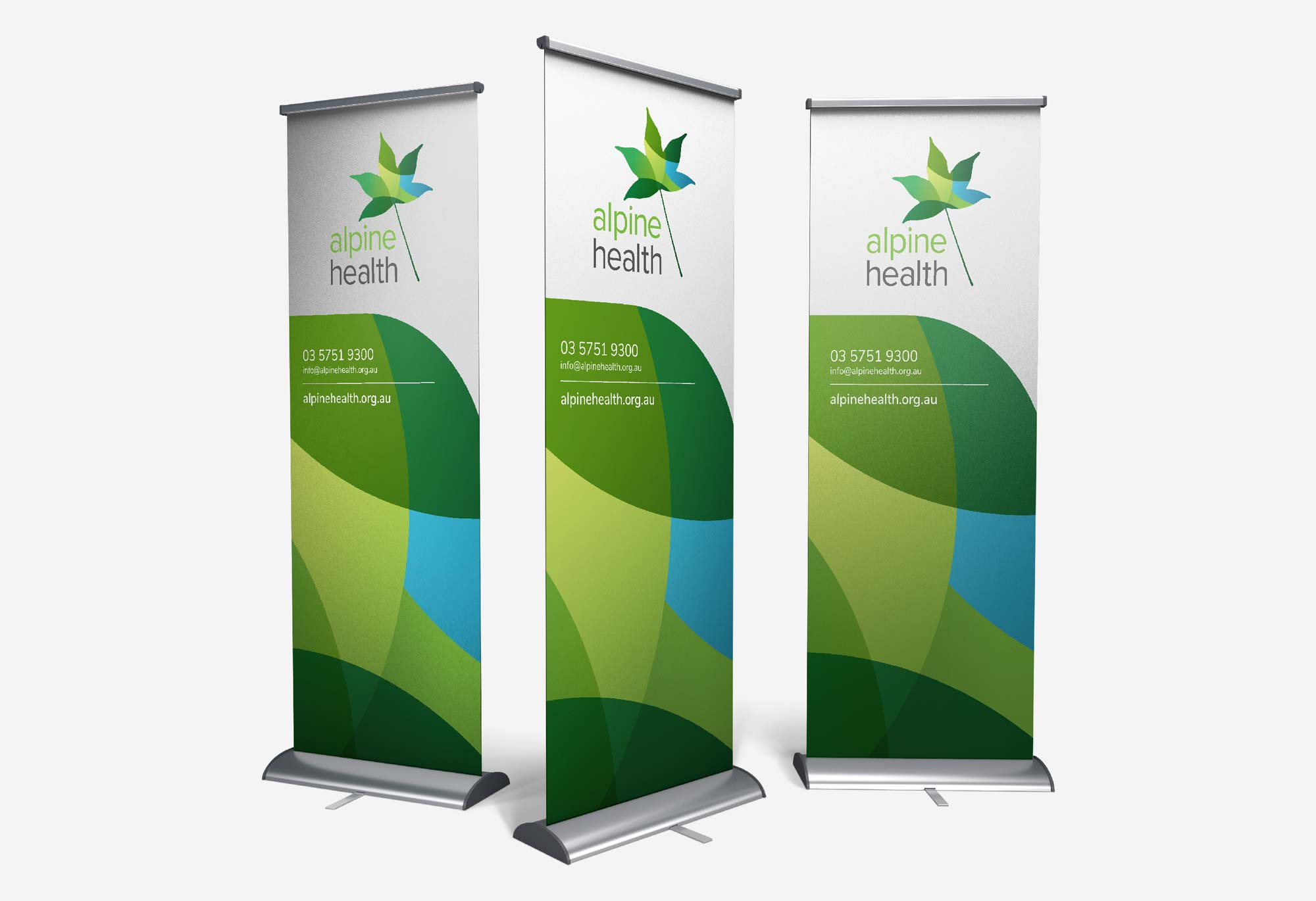 Alpine Health - Pull Up Banner