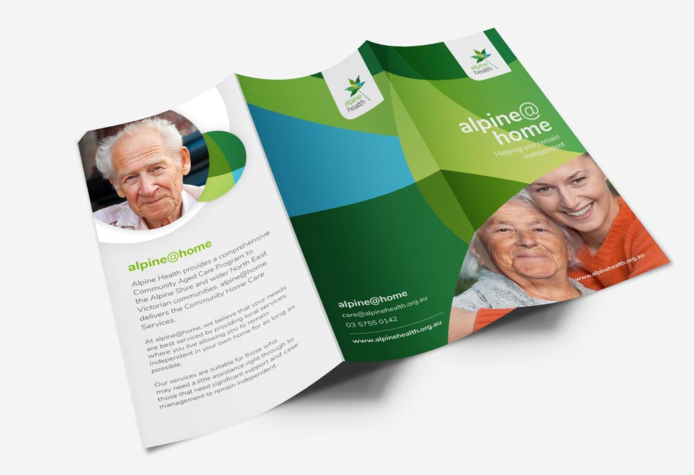 Alpine Health - Trifold Brochure