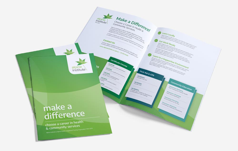 Alpine Health - Bifold Brochure