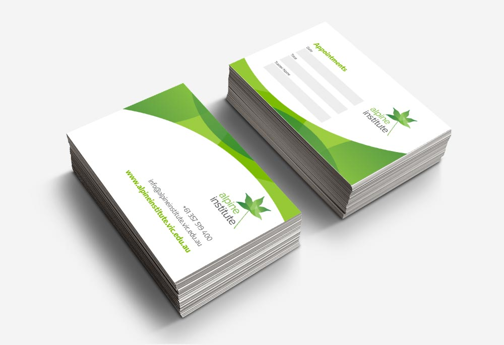 Alpine Health - Business Cards