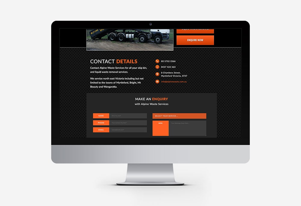 Alpine Waste Services - Website