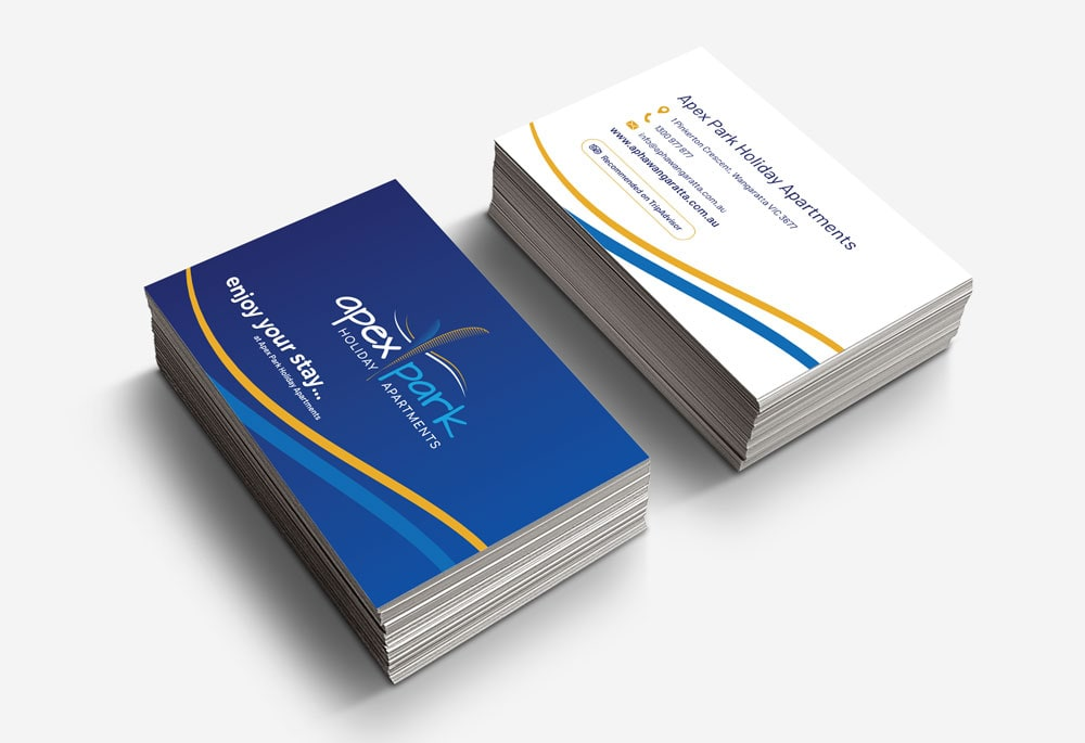 Apex Park Holiday Apartments - Business Cards