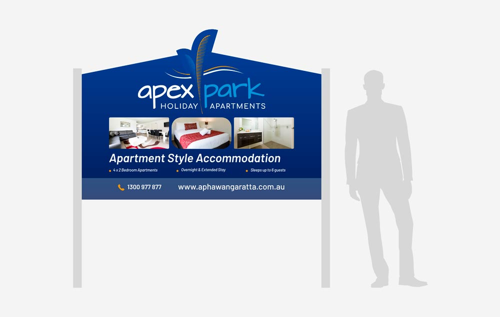 Apex Park Holiday Apartments - Signage