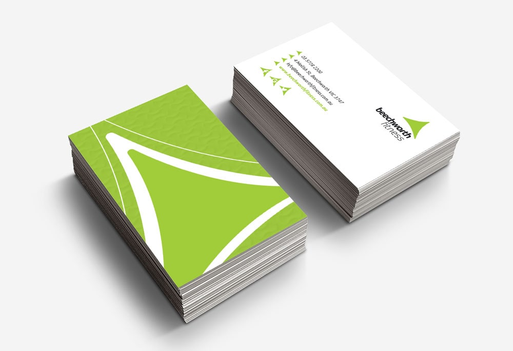Beechworth Fitness - Business Cards