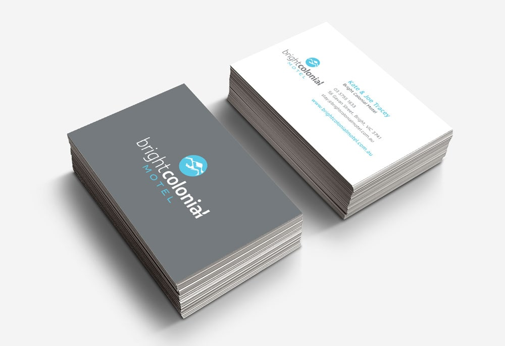 Bright Colonial Motel - Business Cards