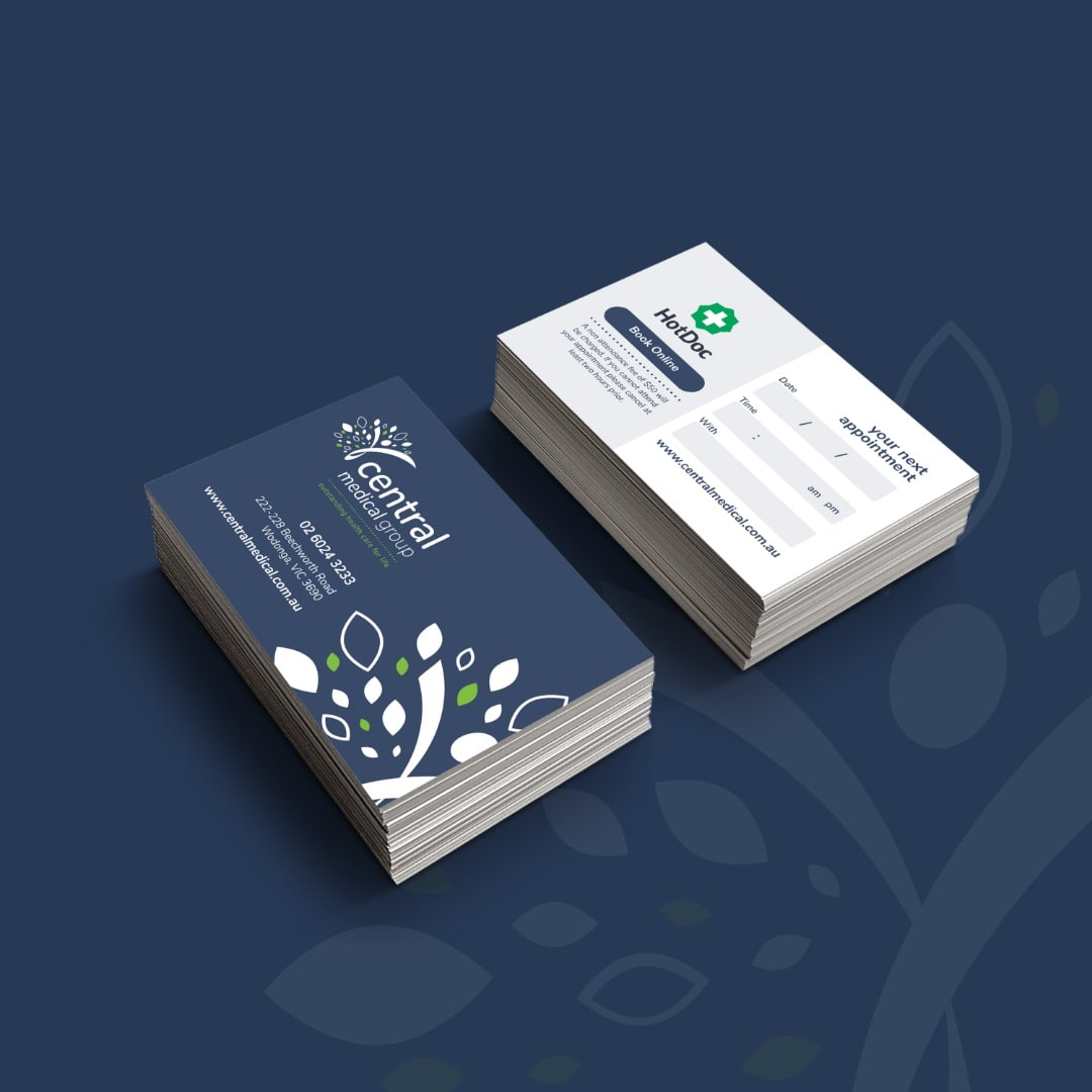 Central Medical Group - Appointment Cards