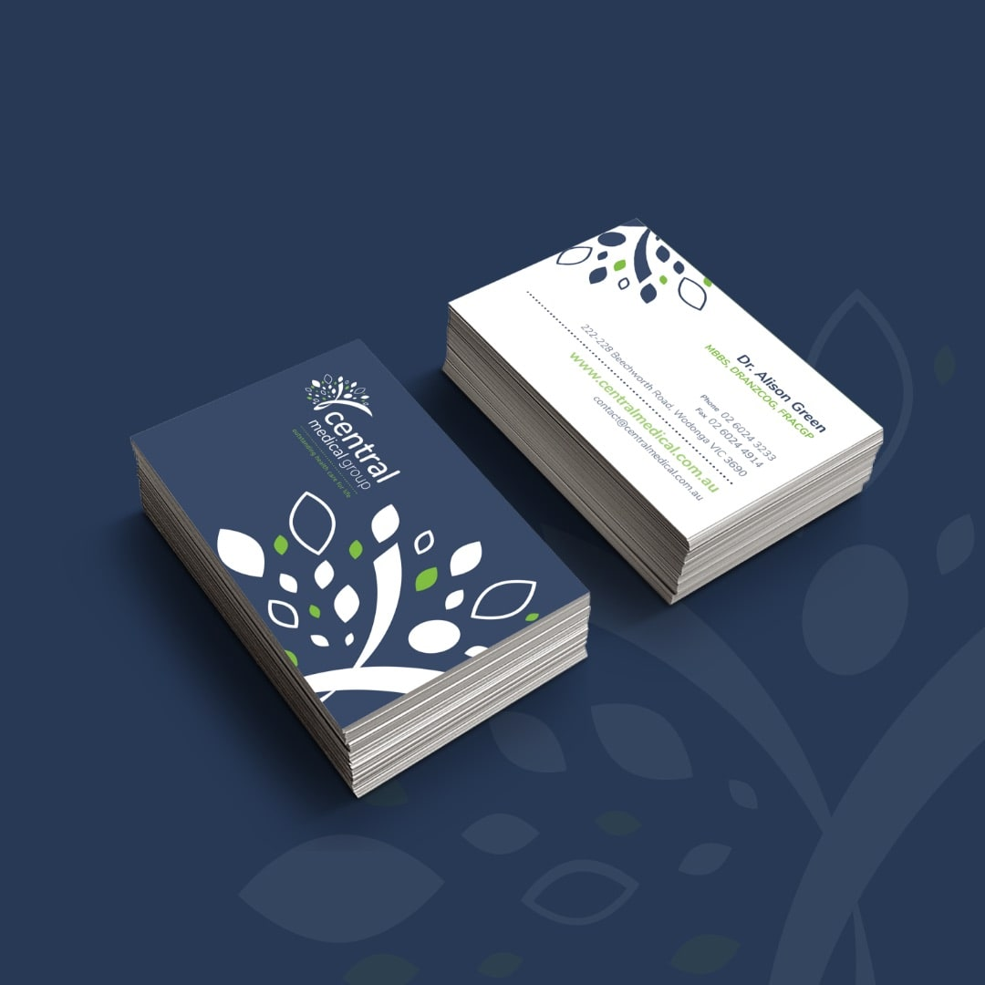 Central Medical Group - Business Cards