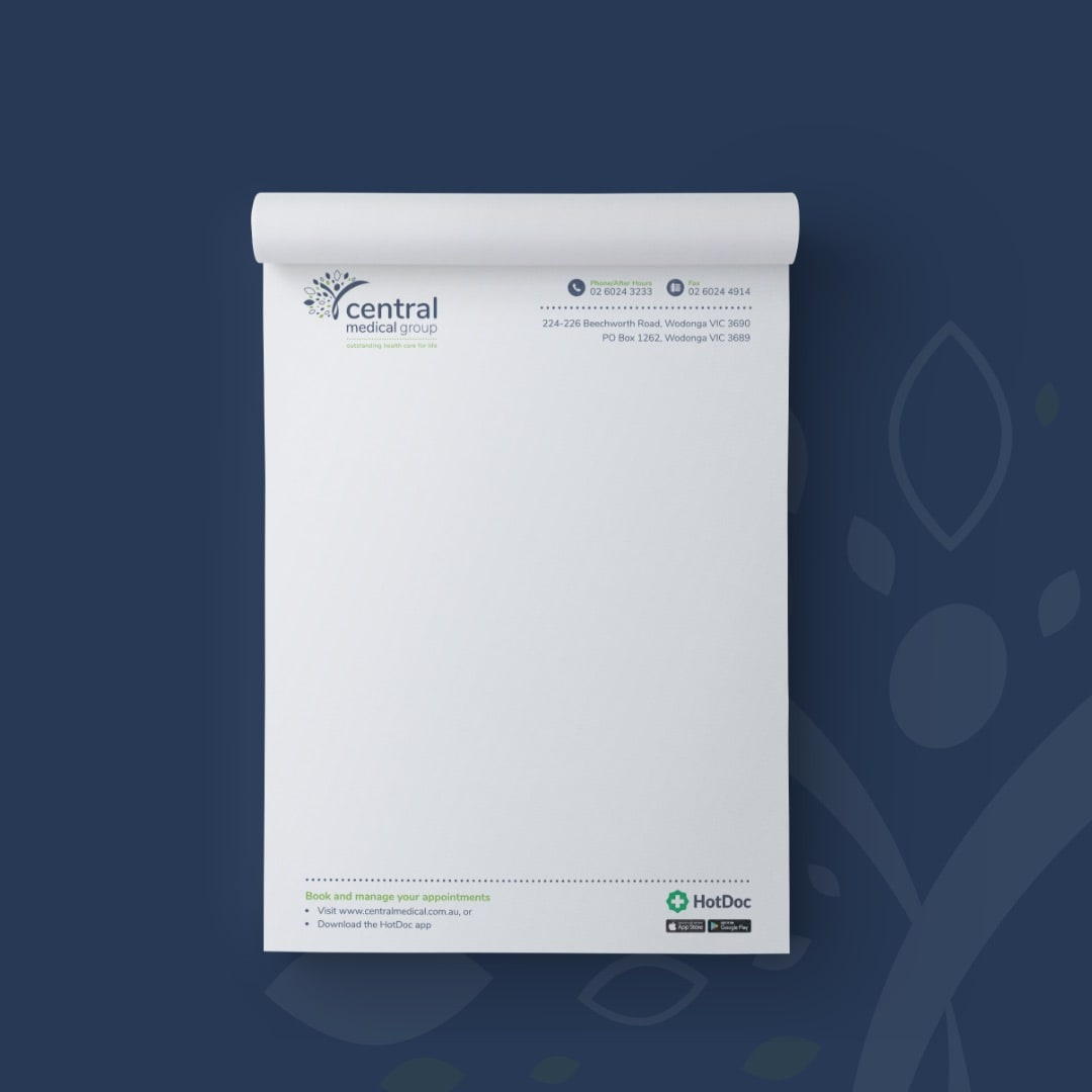 Central Medical Group - Notepads