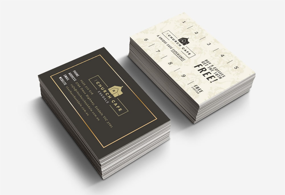 The Church Cafe - Business Cards