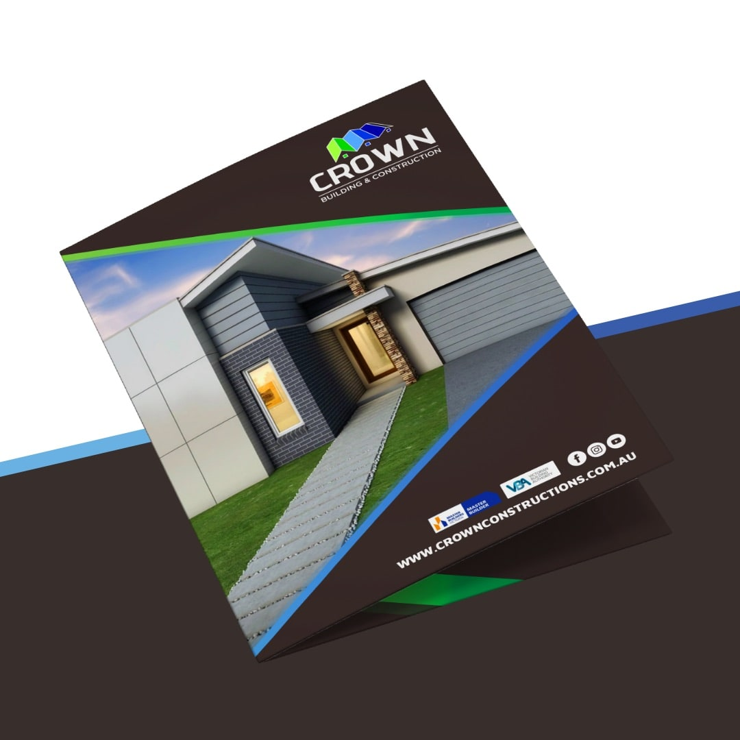 Crown Building & Construction - Promotional Booklet