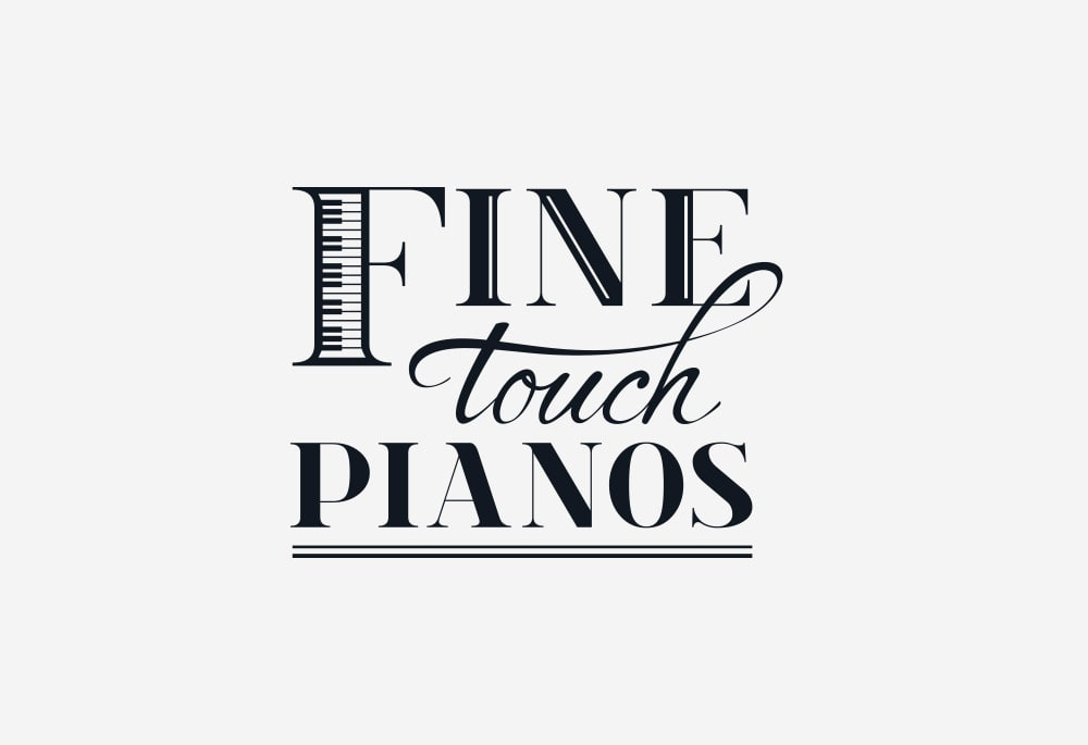 Fine Touch Pianos - Logo Design