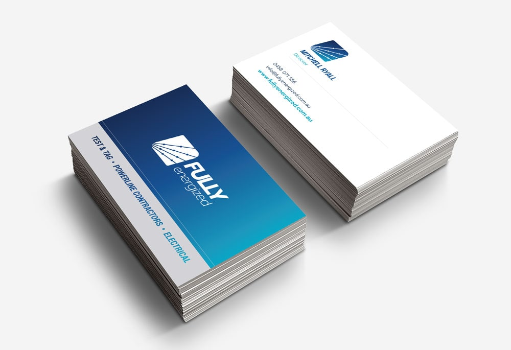 Fully Energized - Business Cards