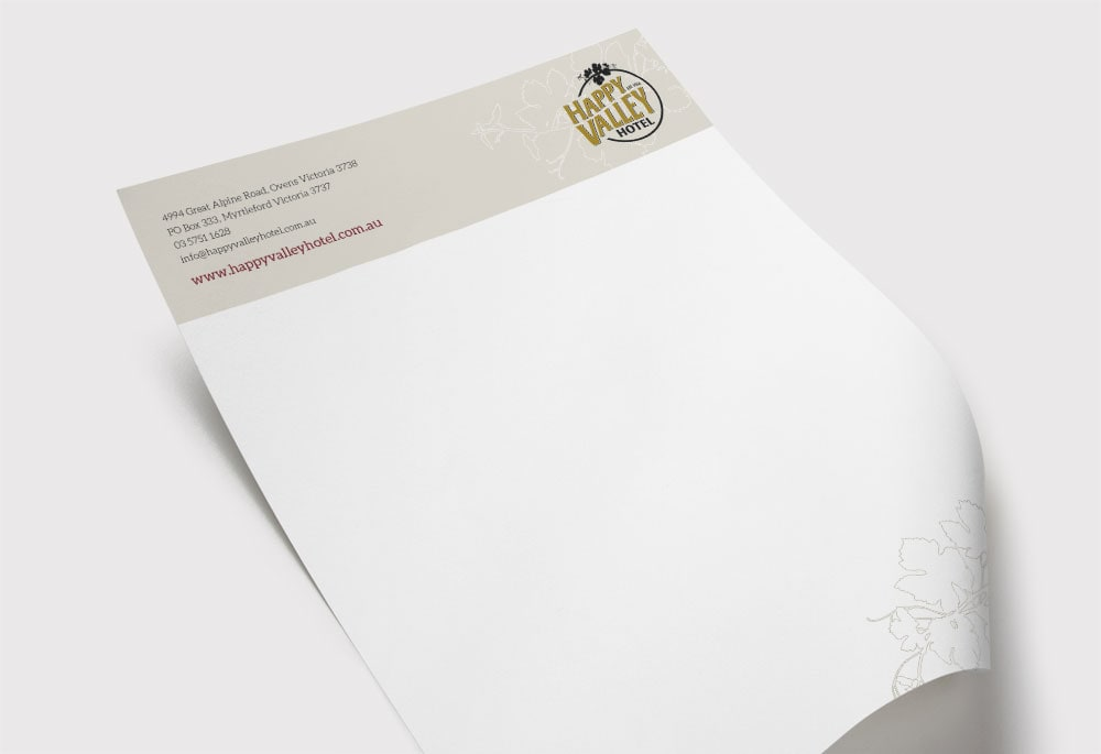 Happy Valley Hotel - Letterhead