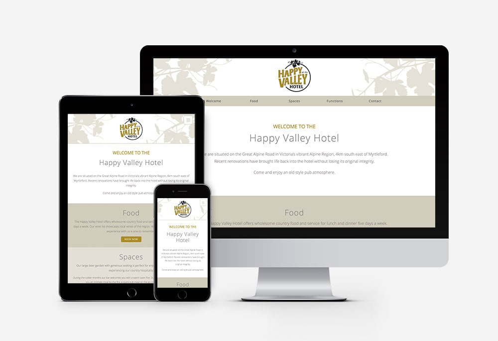 Happy Valley Hotel - Website