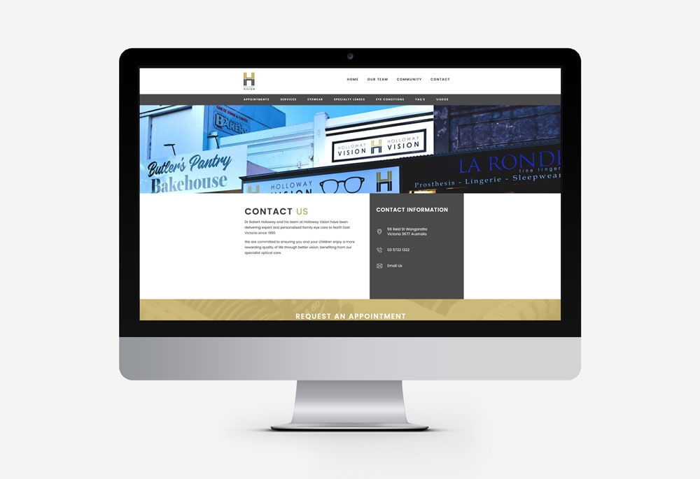 Holloway Vision Centre - Website
