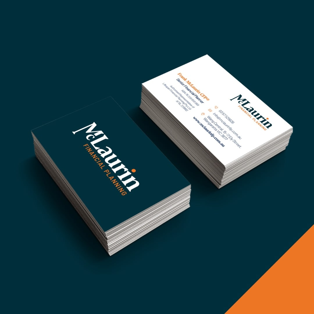 McLaurin Financial Planning - Business Cards