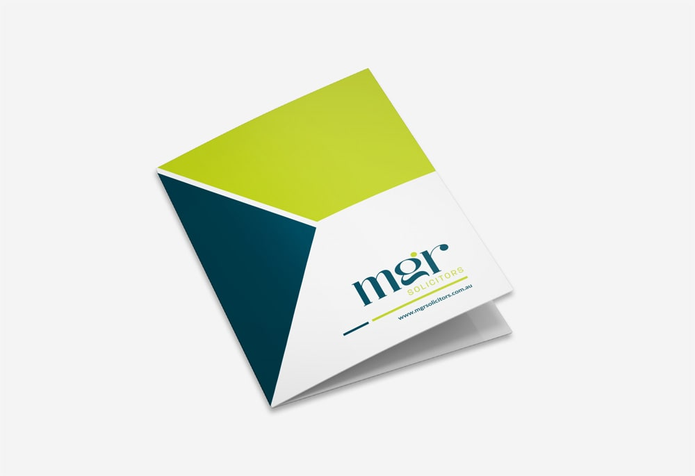 MGR Solutions - Trifold Brochure
