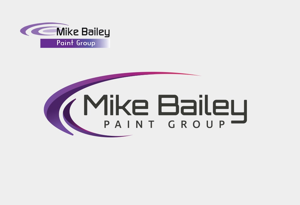Mike Bailey Paint Group - Logo Design