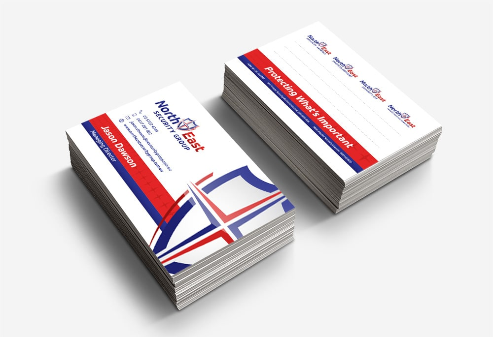 North East Security Patrols - Business Cards
