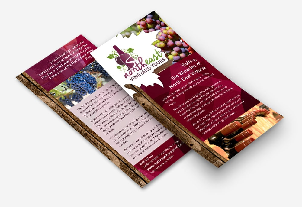 North East Vineyard Tours - Brochure