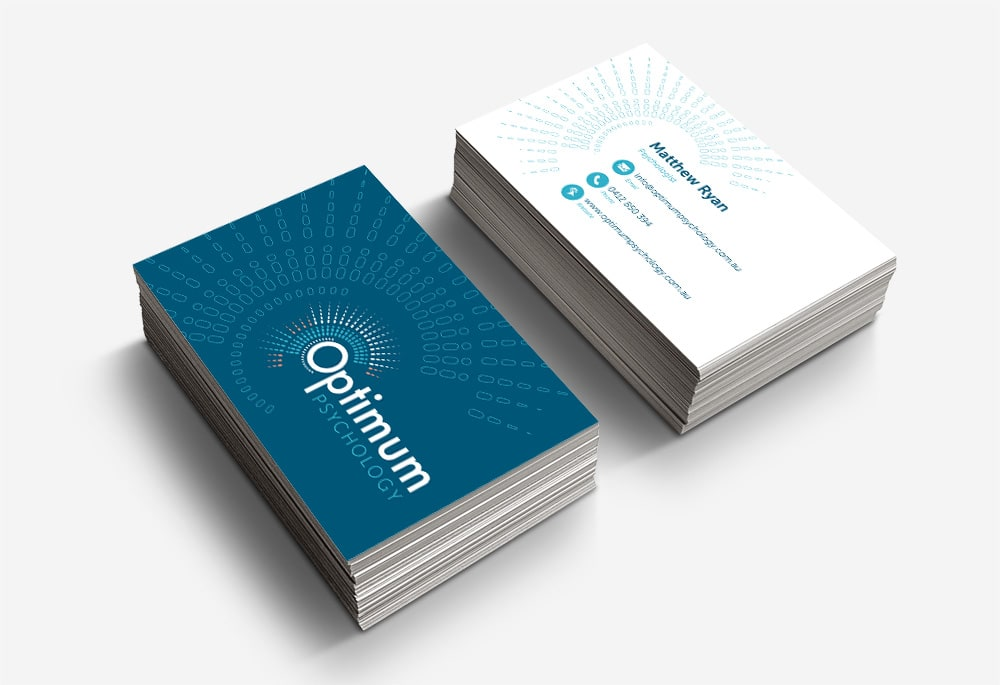 Optimum Psychology - Business Cards