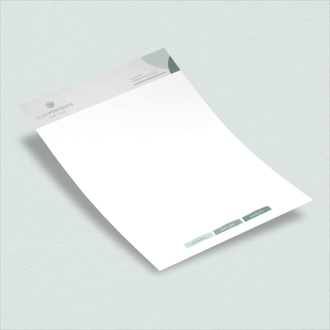 Pure Intentions - Letterhead