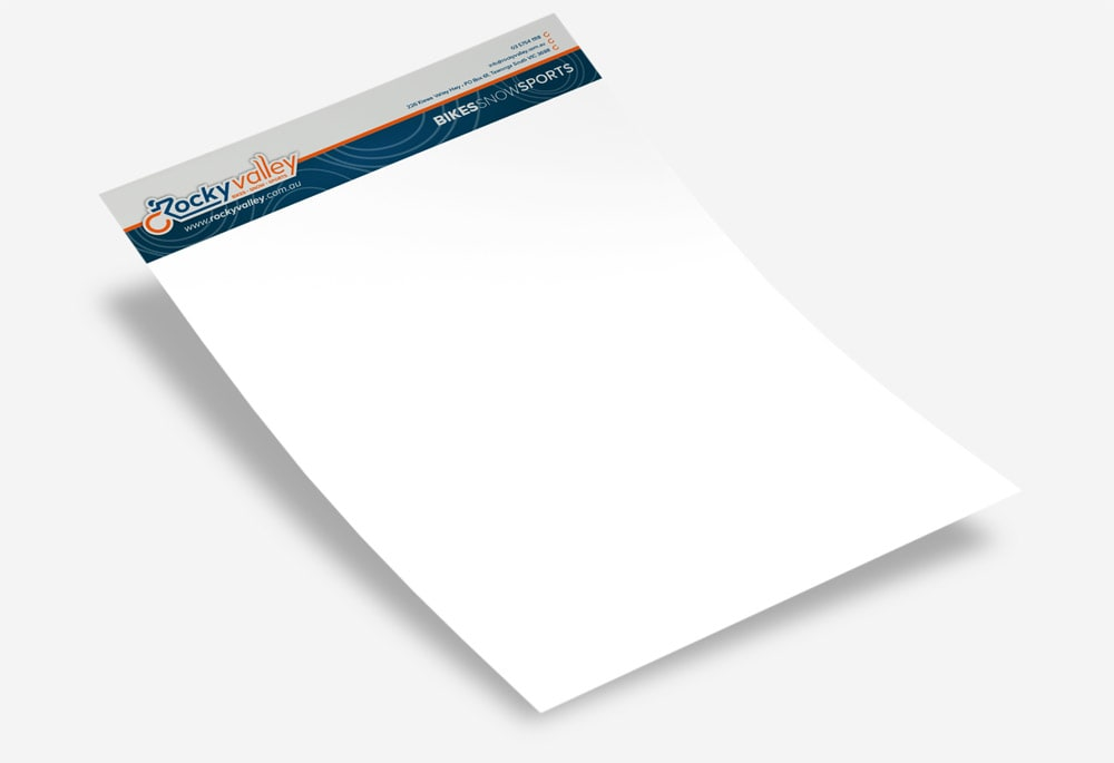 Rocky Valley - Letterhead