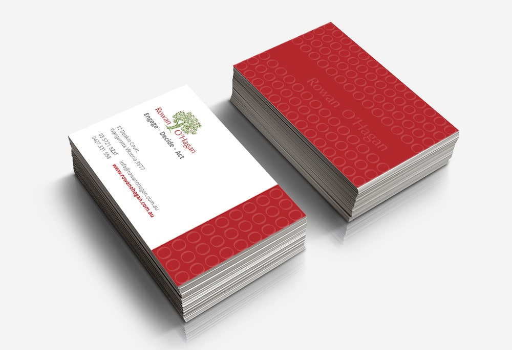 Rowan O'Hagan - Business Cards