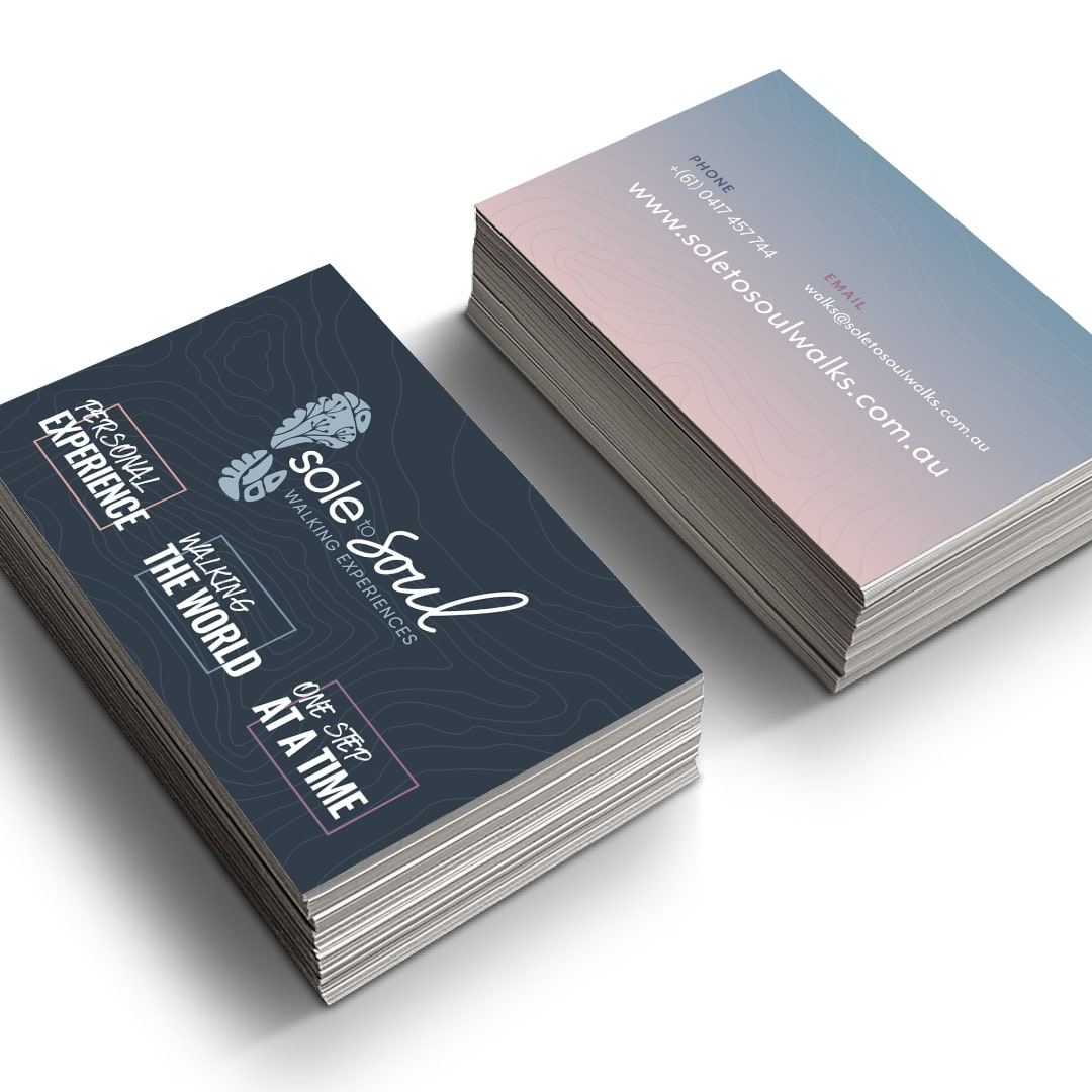 Sole to Soul - Business Cards