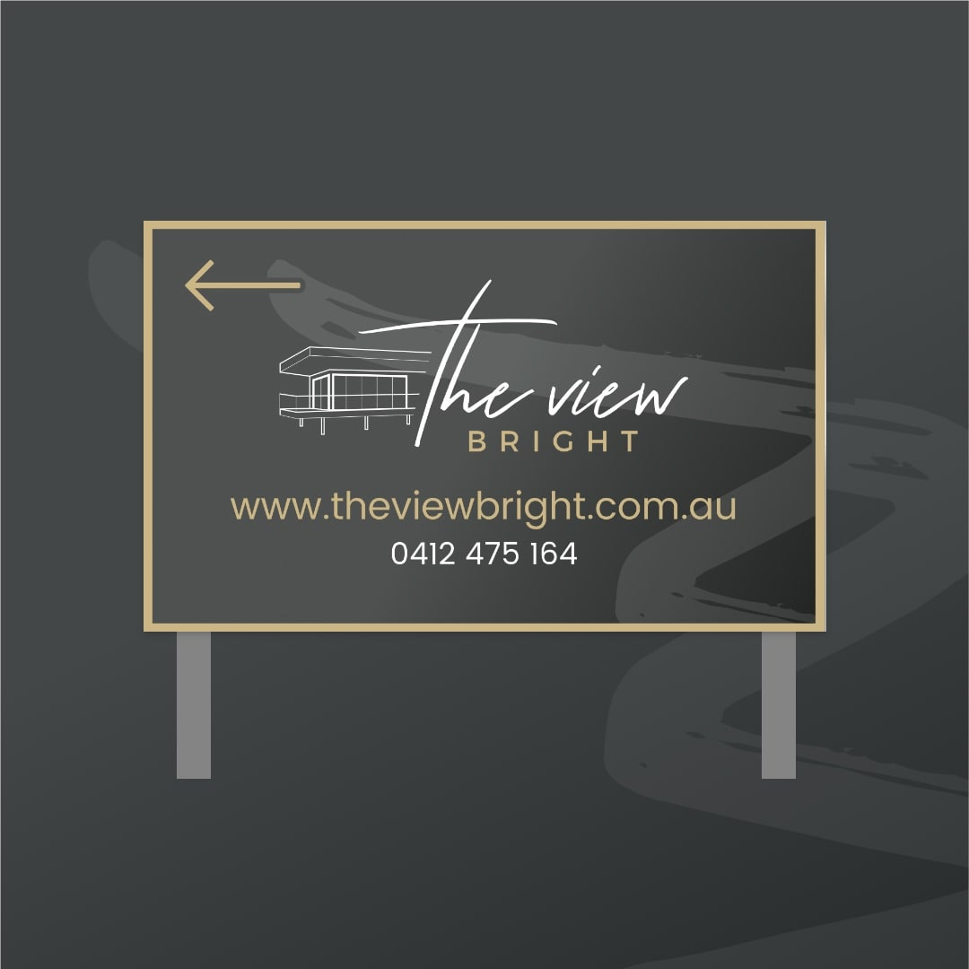 The View Bright - Signage
