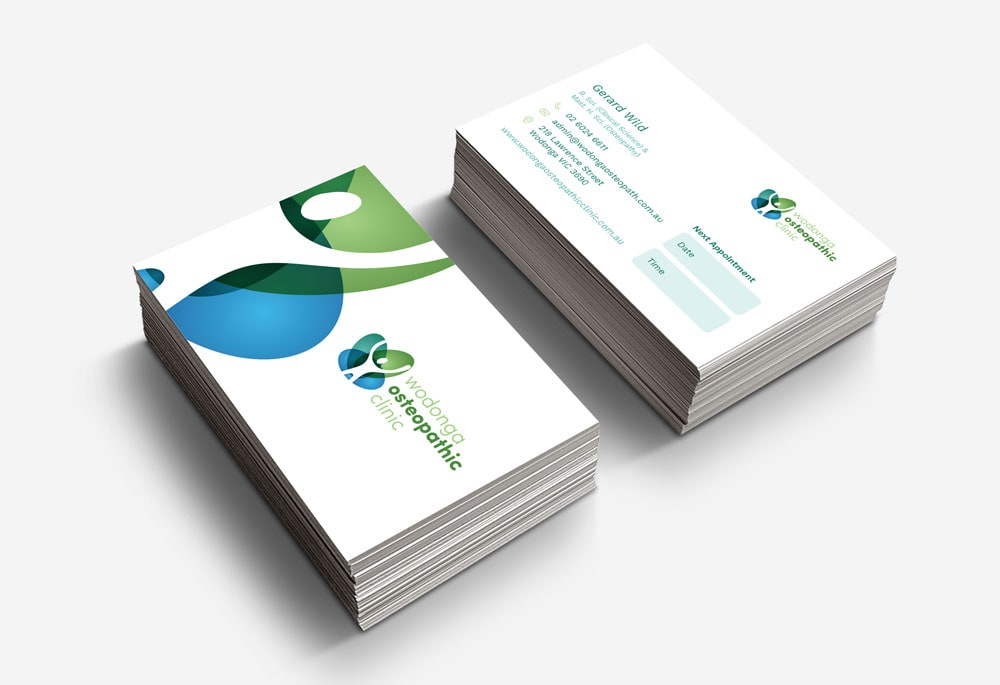 Wodonga Osteopathic Clinic - Business Cards