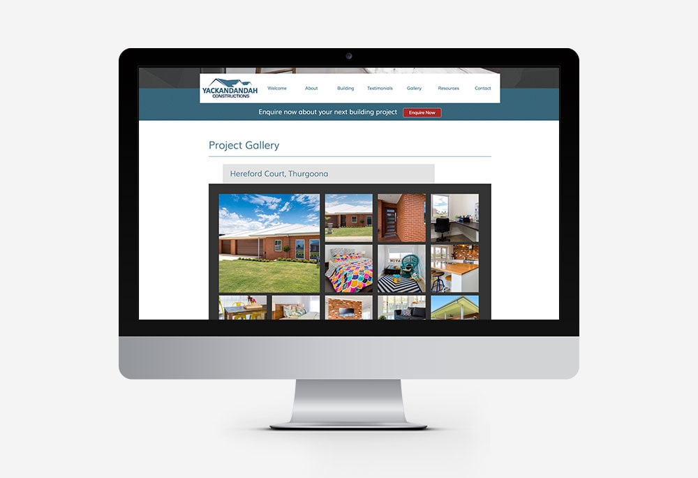 Yackandandah Constructions - Website