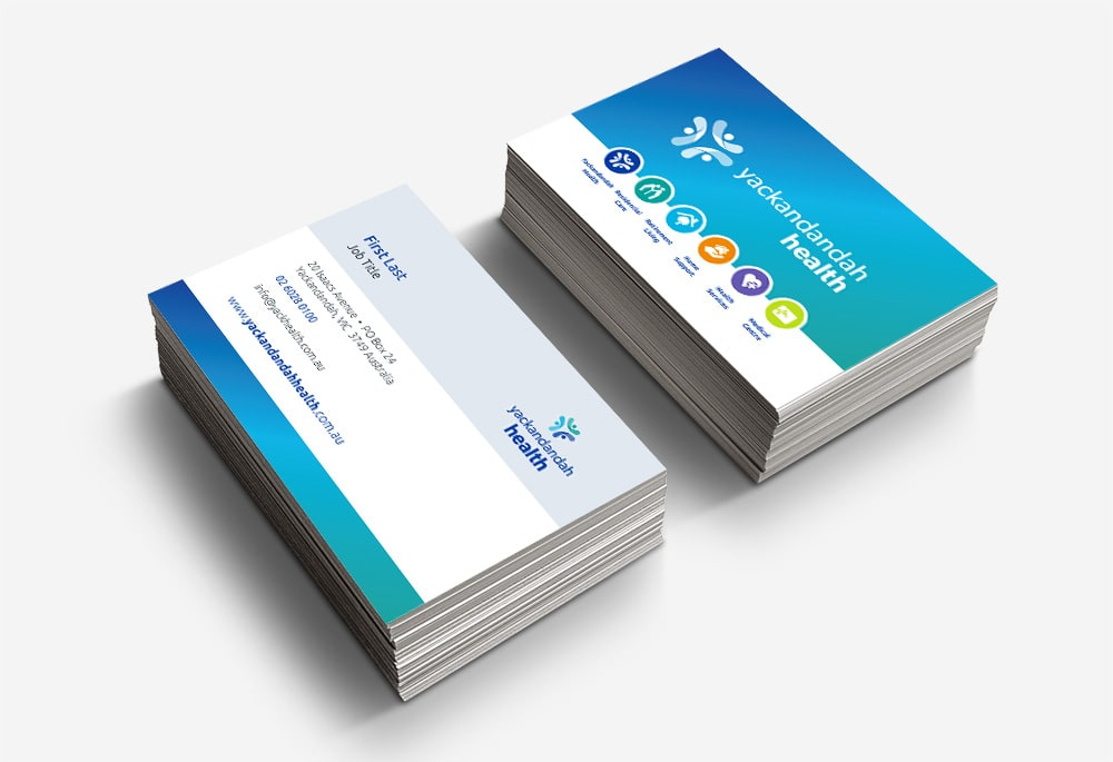 Yackandandah Health - Business Cards