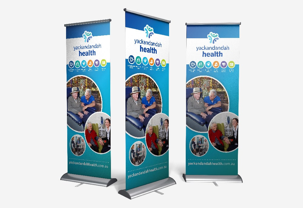 Yackandandah Health - Roll Up Banner