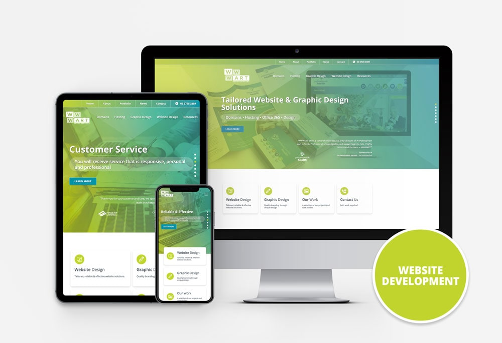 Website Design North East Victoria